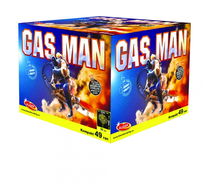 Gas Man kompakt 49 ran