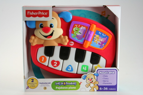 Fisher Price Pejskovo piano CZ DLK07