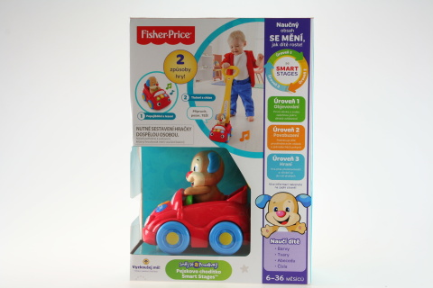 Fisher Price Pejskovo chodítko Smart Stages DLK63