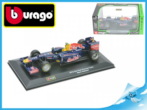 Bburago 1:32 RACE Formule Red Bull Racing Team 2012 2druhy v